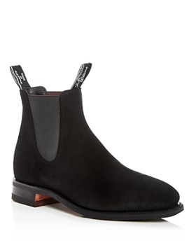 R.M. Williams - Men's Suede Chelsea Boots