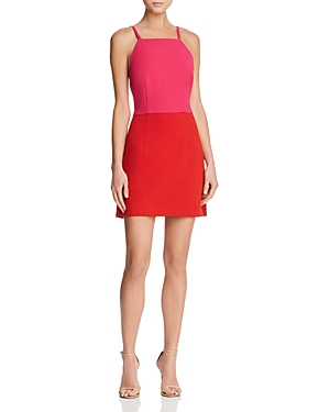 French Connection Color-Blocked A-Line Dress - 100% Exclusive
