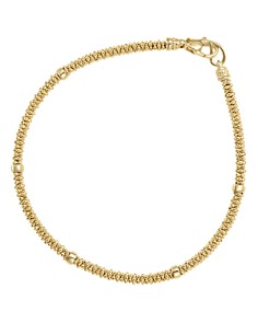 LAGOS - Caviar Gold Collection 18K Gold Beaded Rope Bracelet