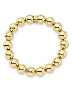 LAGOS - Caviar Gold Collection 18K Gold Beaded Bracelet, 12mm
