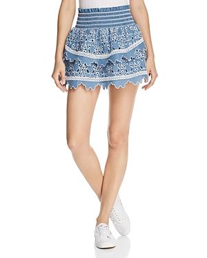 Saylor Brynne Eyelet Skirt