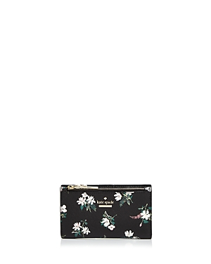 kate spade new york Cameron Street Floral Mikey Leather Wallet