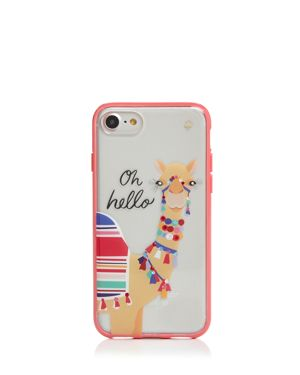 kate spade new york Jeweled Camel iPhone 7/8 Case