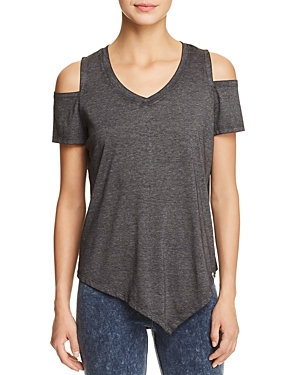 Marc New York Performance Cold-Shoulder Tee