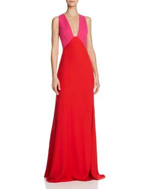 JILL BY JILL STUART COLOR BLOCK GOWN