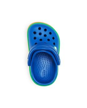 Crocs - Unisex Rainbow Band Clogs - Toddler, Little Kid, Big Kid