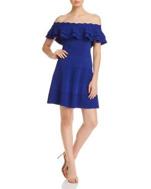 Eliza J Off-the-Shoulder Ruffle Dress 2842480