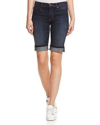 Hudson - Amelia Cuffed Denim Shorts in Dhyana