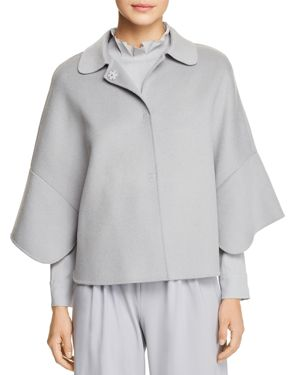 Emporio Armani Cape-Style Wool & Cashmere Jacket