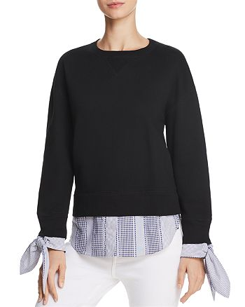 Derek Lam 10 Crosby - Layered-Look Sweatshirt