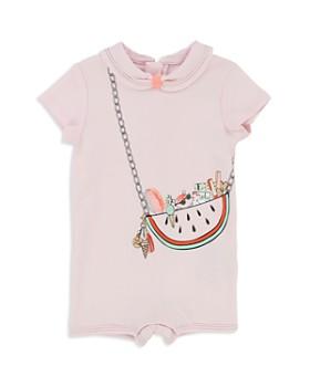 Little Marc Jacobs - Girls' Trompe L'Oeil Watermelon Purse Shortall - Baby