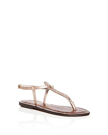 a89765d4b87b5b Sam Edelman Girls  Glitter Gigi Charm Thong Sandals - Toddler ...