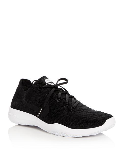 Nike - Women's Free Flyknit Lace Up Sneakers