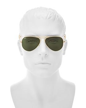 Ray-Ban - Unisex Classic Folding Aviator Sunglasses, 58mm