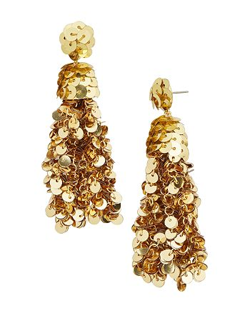 BAUBLEBAR - Sequin Tassel Drop Earrings