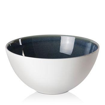Royal Crown Derby - Art Glaze Flamed Caramel Cereal Bowl