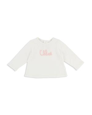 Chloe Girls Embroidered Logo Tee  Baby