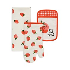 kate spade new york Strawberry Print 3-Piece Linen Set - Bloomingdale's_0