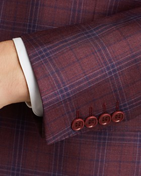 Canali - Plaid Regular Fit Sport Coat