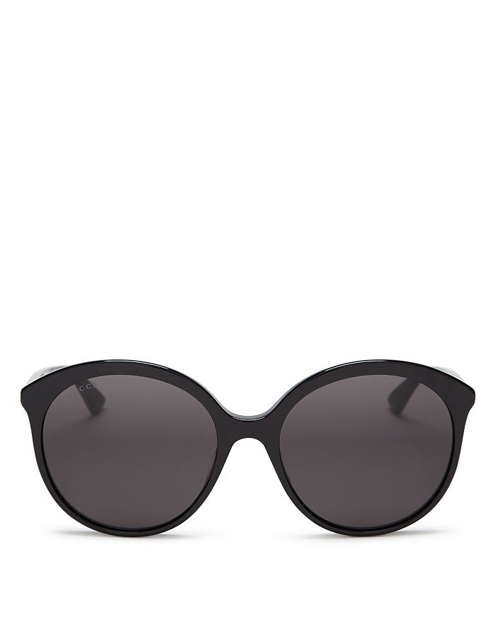 Gucci - Women's Monocolor Round Sunglasses, 59mm