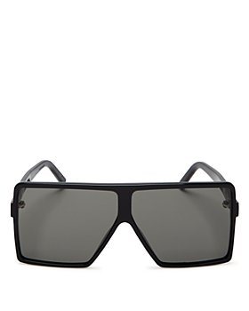 Saint Laurent - Women's SL 183 Betty Small Shield Sunglasses, 63mm