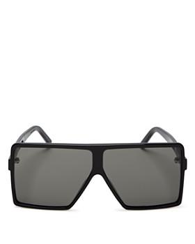 Saint Laurent - Women's SL 183 Betty Small Shield Sunglasses, 63mm