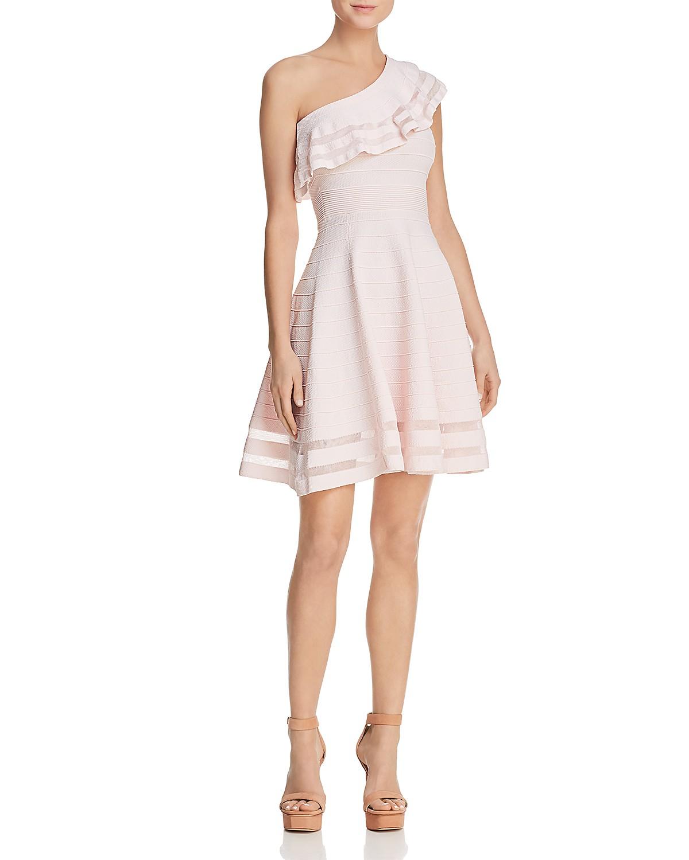 Ted Baker Streena One-Shoulder Knit Dress - 100% Exclusive ...