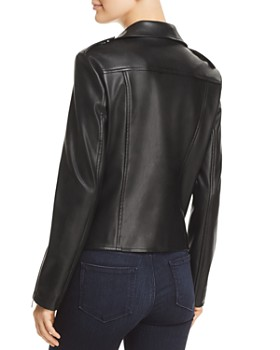 Bagatelle - Faux Leather Moto Jacket