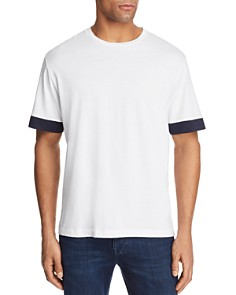 Theory Gaskell Color-Block Sleeve Tee - Bloomingdale's_0