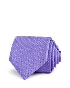 Canali Multi Micro Dot Classic Tie - Bloomingdale's_0
