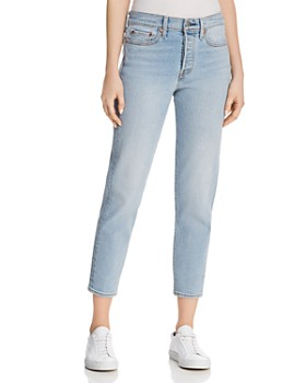 Levi's - Wedgie Icon Fit Jeans in Bauhaus Blues