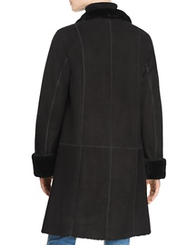Maximilian Furs - Peyton Shearling Coat with Toscana Shearling Stand Collar - 100% Exclusive