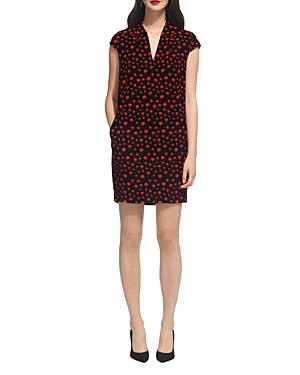 Whistles Paige Eclipse Print Dress