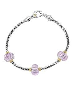 LAGOS 18K Gold & Sterling Silver Gemstone Melon Bead Bracelet - Bloomingdale's_0