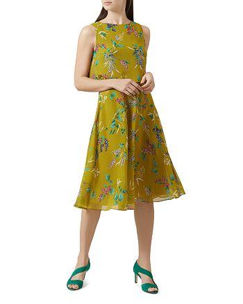 HOBBS LONDON - Ember Floral Print Popover Dress