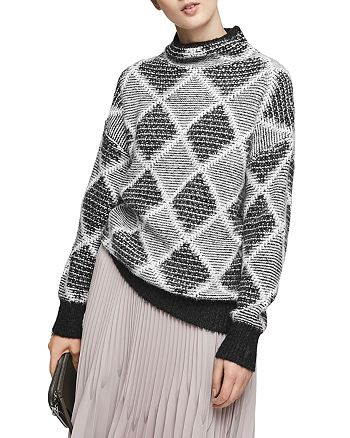 92bc16d0c REISS - Sophie Patterned Sweater
