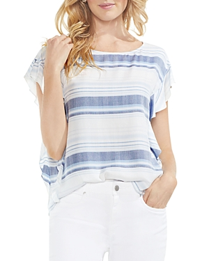 Vince Camuto Herringbone Stripe Top