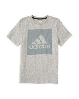 Adidas Boys' Logo Graphic Tee - Little Kid thumbnail