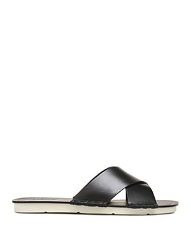 Vince - Women's Nico Leather Slide Sandals