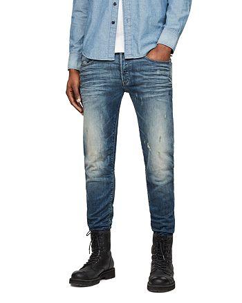 G-STAR RAW - 3301 Super Slim Jeans in Vintage Blue