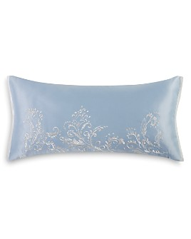 "Charisma - Harmony Embroidered Decorative Pillow, 14"" x 28"""