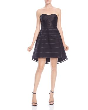 Halston Heritage Strapless Fit-and-Flare Bustier Dress 2855276