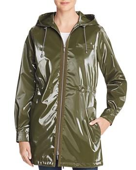 Jane Post - London Shiny Raincoat