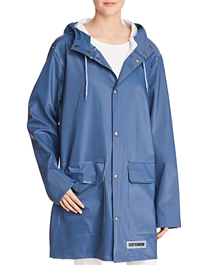 Stutterheim Stockholm Denim-Finish Raincoat