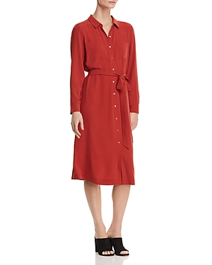 Eileen Fisher Silk Shirt Dress