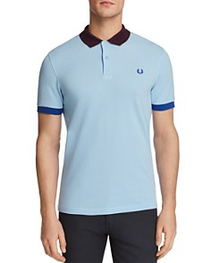 Fred Perry Color-Blocked Pique Short Sleeve Polo Shirt - Bloomingdale's_0