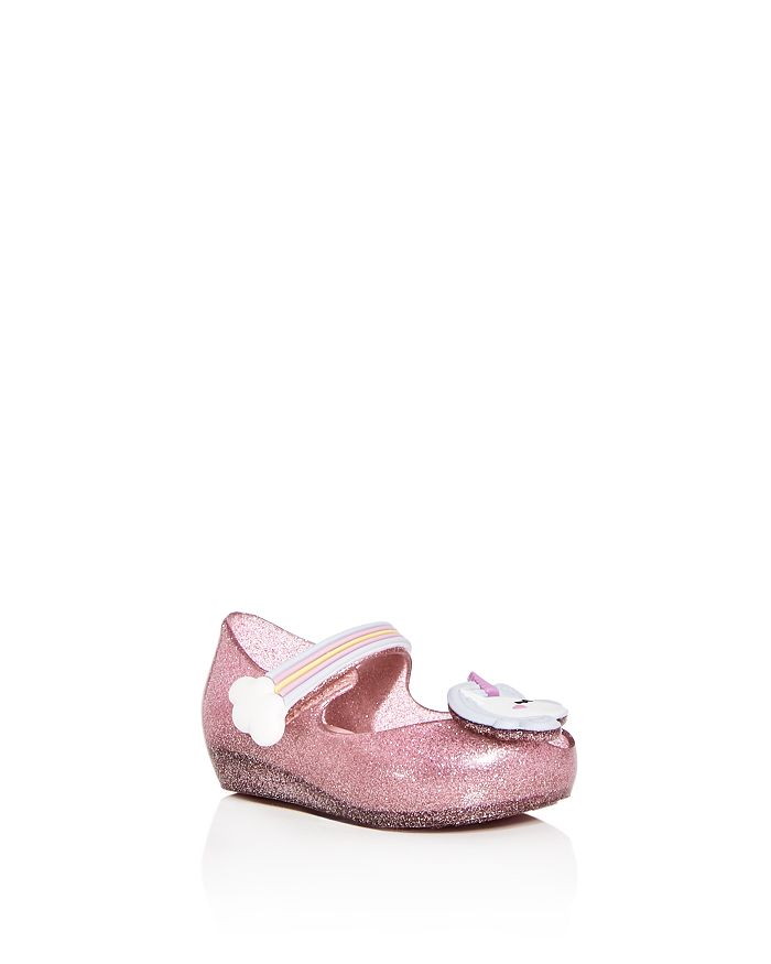 Mini Melissa Girls  Ultragirl Unicorn Mary Jane Flats - Walker ... 3c8ed50a4