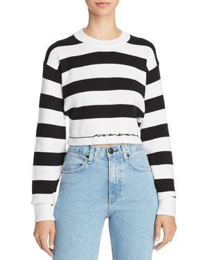 rag & bone/Jean Striped Cropped Sweater 2847188