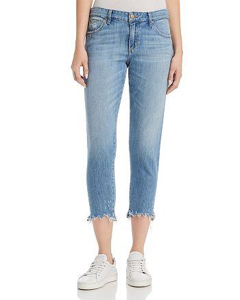 Joe's Jeans - The Smith Crop Annie-Hem Jeans in Zuma