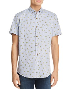 Sovereign Code Crystal Cove Short Sleeve Button-Down Shirt - Bloomingdale's_0